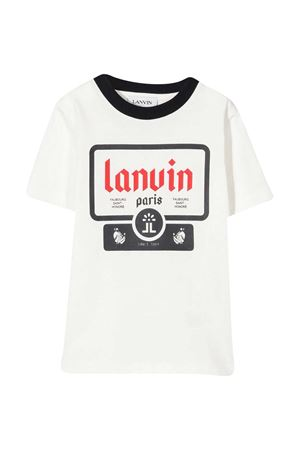 White t-shirt  teen LANVIN KIDS. Lanvin enfant | 8 | N25004N78T