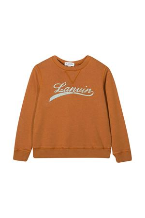 Felpa marrone Lanvin enfant Lanvin enfant | -108764232 | N25011357
