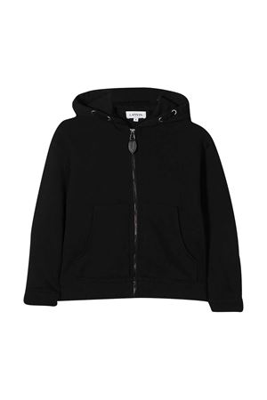 Black sweatshirt teen Lanvin kids Lanvin enfant | 3 | N2501909BT