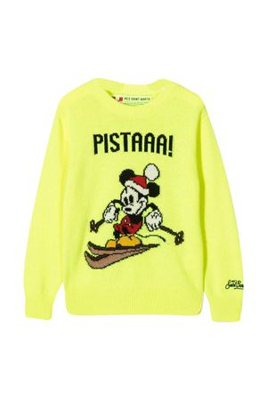 Mc2 Saint Barth Kids Pistaaa yellow teen sweater MC2 SAINT BARTH KIDS | 7 | DOUGLASMKPT94T