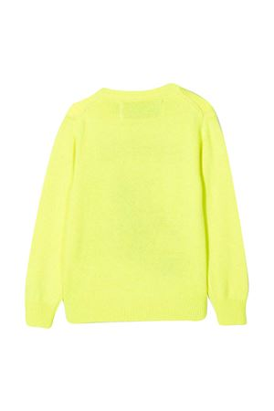 Mc2 Saint Barth Kids Pistaaa yellow sweater MC2 SAINT BARTH KIDS | 7 | DOUGLASMKPT94