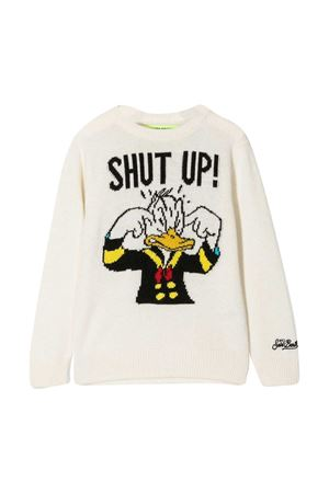 White sweater Mc2 Saint Barth Kids MC2 SAINT BARTH KIDS | 7 | DOUGLASSHUD10