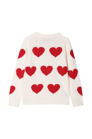 Maglione bianco Mc2 Saint Barth Kids MC2 SAINT BARTH KIDS | 7 | PRINCESSEEMHL46