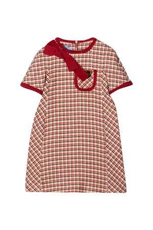 Mi Mi Sol red check dress MI.MI.SOL | 11 | MFAB177TS0352BGE