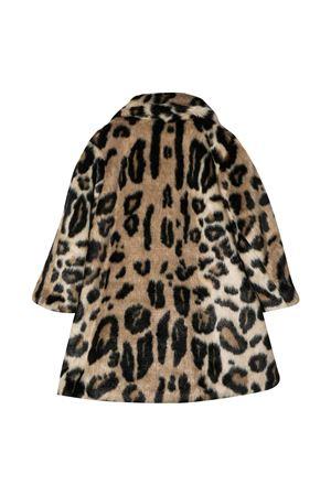Mi Mi Sol animal print coat MI.MI.SOL | 17 | MFCT009TS0317MLT