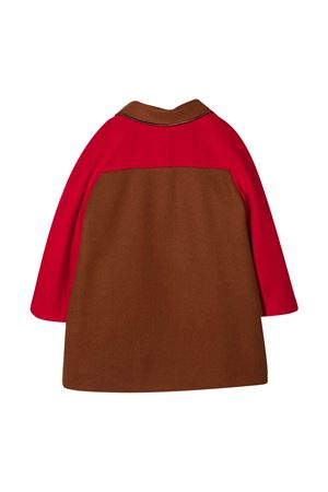 Brown coat Mi Mi Sol MI.MI.SOL | 17 | MFCT010TS0320RED