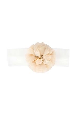 White headband Miss Blumarine Miss Blumarine | -550735340 | MBL2855PANNA