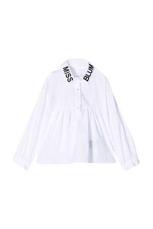 White shirt Miss Blumarine  Miss Blumarine   5032334   MBL2885BPANNA