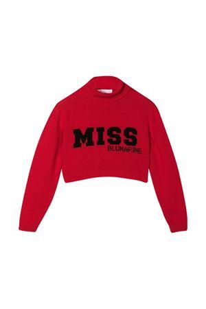 Maglione rosso Miss Blumarine Miss Blumarine | 1034792055 | MBL2924ROSS