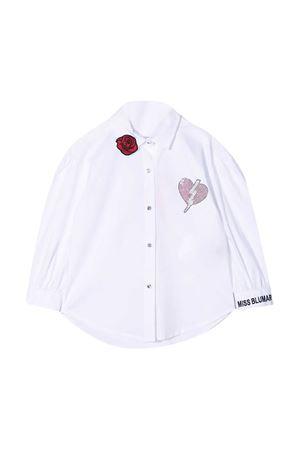 Miss Blumarine white shirt  Miss Blumarine   5032334   MBL2961BPANNA