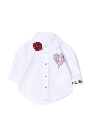 White shirt Miss Blumarine Miss Blumarine | 5032334 | MBL2961PANNA