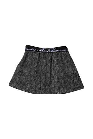 Gray mini skirt Miss Blumarine Miss Blumarine | 15 | MBL3027BUNICO