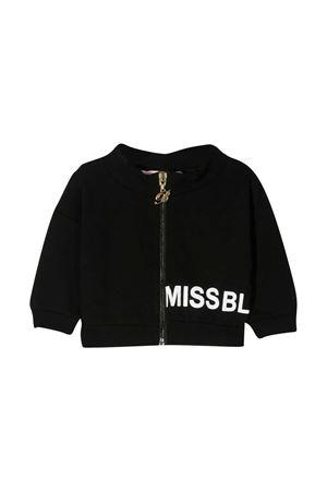 Miss Blumarine black sweatshirt  Miss Blumarine | -108764232 | MBL3055NERO