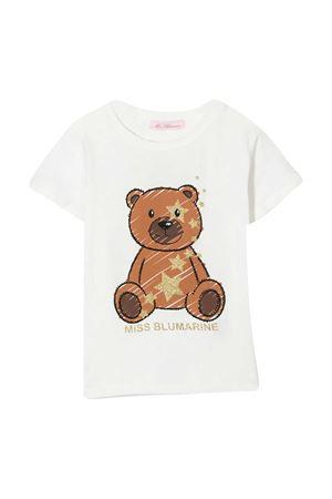White t-shirt Miss Blumarine Miss Blumarine | 8 | MBL3100SETA