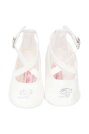 Newborn white shoes Miss Blumarine  Miss Blumarine | 12 | MBL3110PANNA