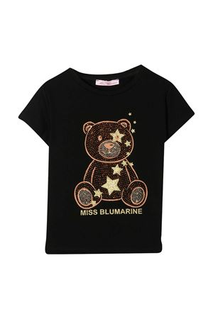 Black t-shirt Miss Blumarine  Miss Blumarine | 8 | MBL3166NERO