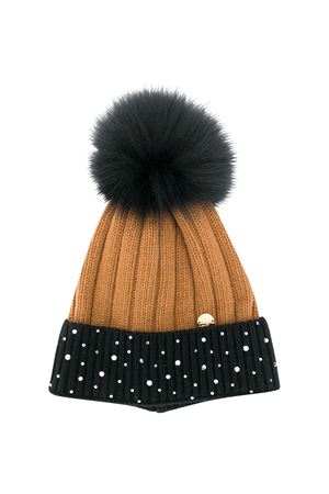 Sand and black cap Miss Blumarine Miss Blumarine | 75988881 | MBL3181N/CAR