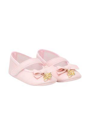 Newborn pink ballet flats Miss Blumarine Miss Blumarine | 12 | MBL3216ROSA