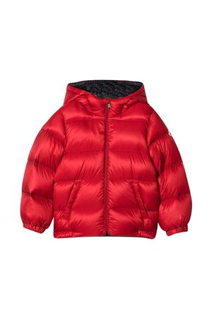 Piumino rosso neonato Moncler Kids new macaire Moncler Kids | -276790253 | 1A5392053334455