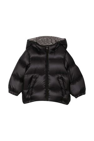 Piumino nero neonato Moncler Kids new macaire Moncler Kids | -276790253 | 1A5392053334999