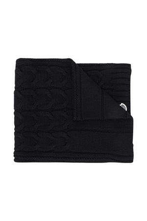 Black chunky scarf with embroidered logo Moncler kids Moncler Kids | 77 | 3C7002004S02999