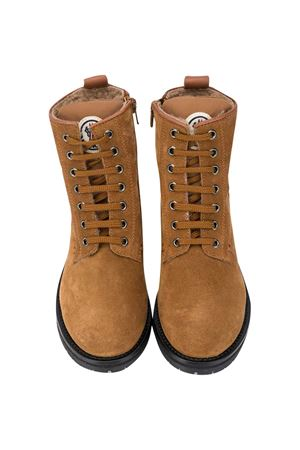Lace-up ankle boots teen Moncler Kids Malik Moncler Kids | 76 | 4F7002002SM2200T