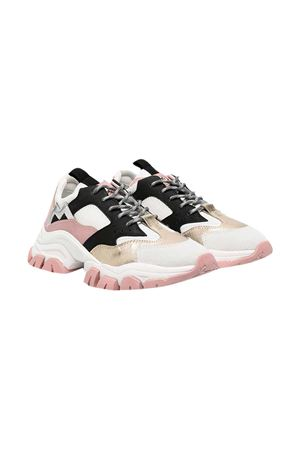 Sneakers Leave No Trace with color block design Moncler kids Moncler Kids | 90000020 | 4M7070002SM7510