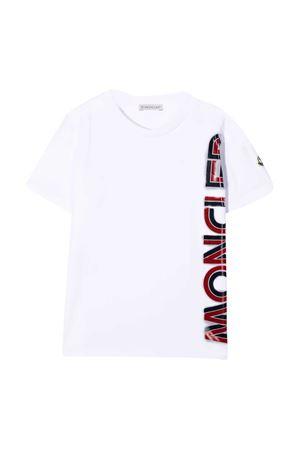 White t-shirt Moncler kids  Moncler Kids | 8 | 8C7262083092001