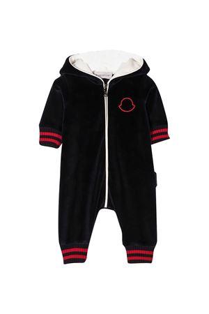 Tuta neonato nera Moncler kids Moncler Kids | -1617276553 | 8L713208999Y778