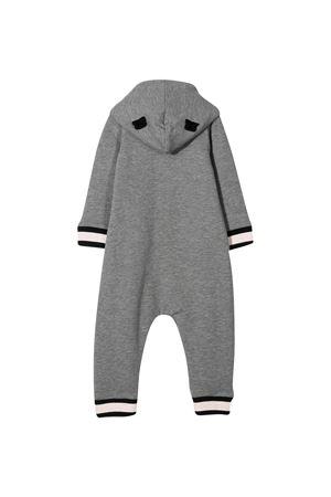 Pagliaccetto grigio con cappuccio Moncler kids Moncler Kids | -1617276553 | 8L71600809EH987