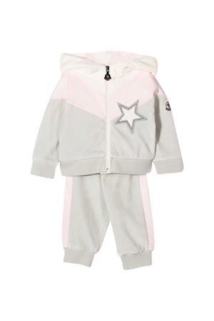 Tracksuit with frontal star application Moncler kids Moncler Kids | 42 | 8M725108999Y900