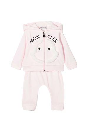 Pink baby suit Moncler kids  Moncler Kids | 42 | 8M732108999Y500