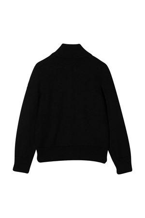 Black cardigan with frontal zip closure Moncler kids Moncler Kids | 39 | 9B70120A9384999