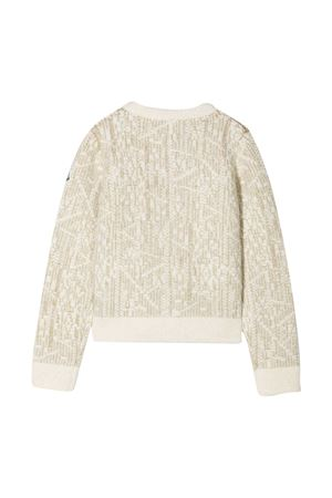 Moncler Kids ivory sweater  Moncler Kids | 39 | 9B70210A9473034