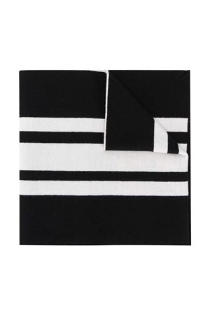 Black scarf with white stripes Moncler kids Moncler Kids | 77 | 9Z70520A9366999
