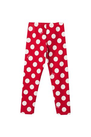 Monnalisa red leggings  Monnalisa kids | 5032349 | 11642266644301