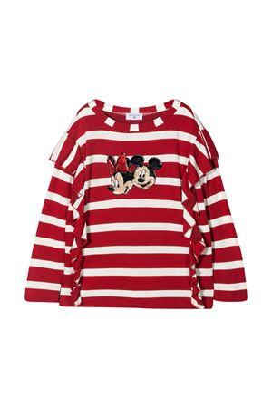 Red striped Monnalisa sweater  Monnalisa kids | 40 | 116635AV62094301