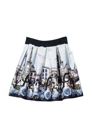 Blue skirt Monnalisa kids  Monnalisa kids   15   11670166580156