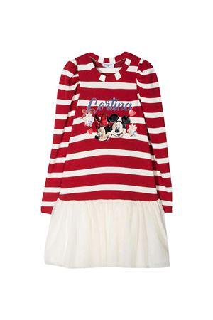 Monnalisa red layered dress  Monnalisa kids | 11 | 11693462094301