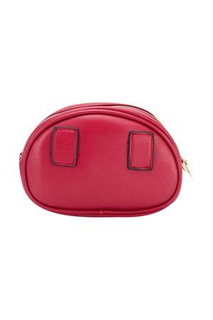 Red oval shoulder bag Monnalisa kids Monnalisa kids | 31 | 17601867830043
