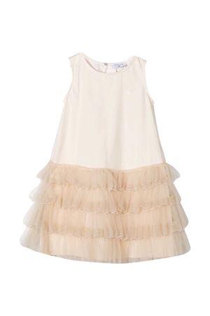 Vestito smanicato beige Monnalisa Monnalisa kids | 11 | 17690269450003