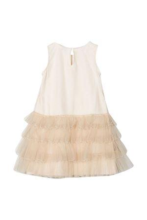 Monnalisa beige sleeveless dress Monnalisa kids | 11 | 17690269450003