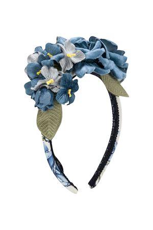 Blue headband Monnalisa kids  Monnalisa kids | -611852221 | 19600766520256
