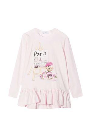 Long pink Monnalisa t-shirt  Monnalisa kids   8   196604SD60009294
