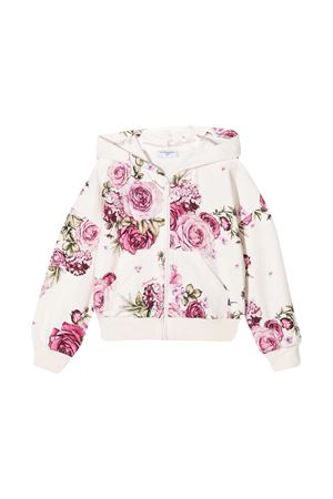 Monnalisa floral sweatshirt Monnalisa kids | -108764232 | 196800R360030294