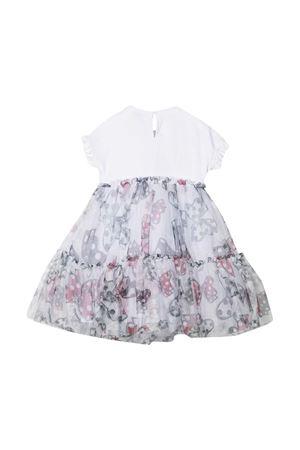 Monnalisa white flared dress Monnalisa kids | 5032321 | 19691967930150