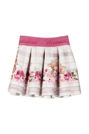 Light pink skirt with press Monnalisa kids Monnalisa kids | 15 | 31670166020194
