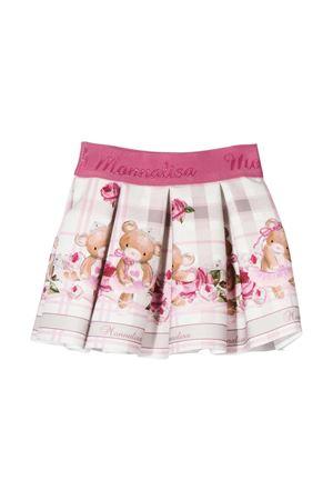Light pink skirt with press Monnalisa kids Monnalisa kids   15   31670166020194