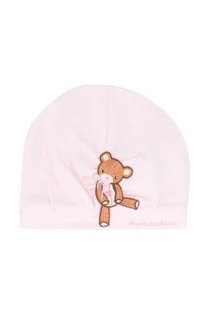 Pink beanie Monnalisa Monnalisa kids | 75988881 | 356001A16020092C