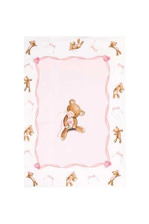 Lenzuolo rosa e bianco con stampa frontale Monnalisa kids Monnalisa kids | -282307454 | 3560026020192C